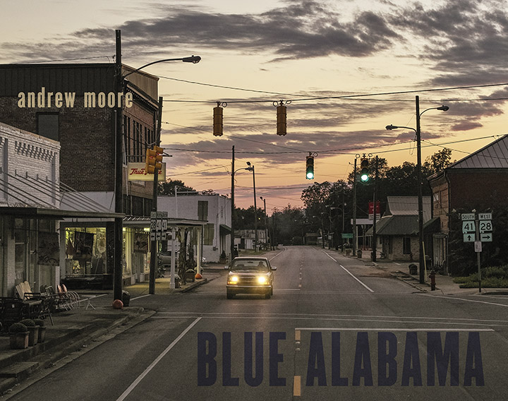 Andrew Moore, Blue Alabama, Book, 2019
